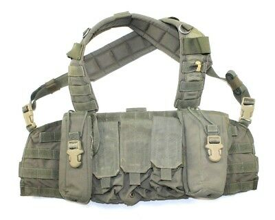 Eagle Industries RLCS Ranger Green RRV Rhodesian Recon Vest Chest Rig w/ Pouches