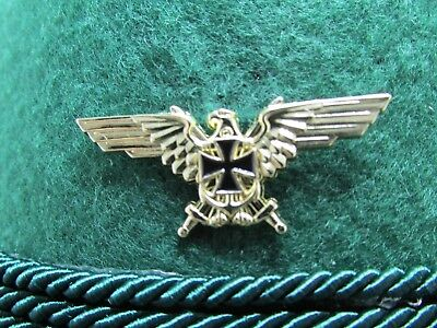 Gold Eagle with Iron Cross German  Military/Oktoberfest Hat Pin