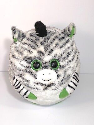 "Ty Beanie Ballz Oasis The Zebra  12""  Large"
