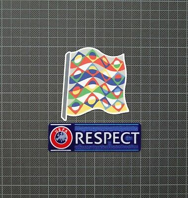 UEFA Nations League 2018/2019 & RESPECT Sleeve Patches/Badges