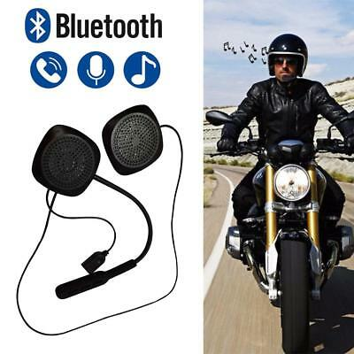 Bluetooth Motorbike Helmet Headset Motorcycle Interphone Intercom w/ Hands-free