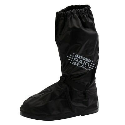 Oxford Rainseal Waterproof Overboots Motorcycle Motorbike Over Boots All Sizes