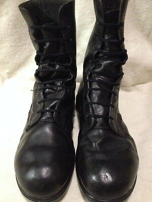 Genuine British Army Issue DMS Boots Combat High Leg Size 11L Cadet Cold War 80s