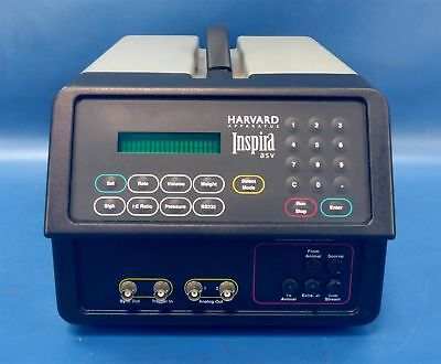Harvard Apparatus Inspira ASV Advanced Safety Animal Ventilator 55-7058