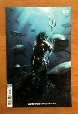 Justice League 11 Cover B  Francesco Mattina Movie Variant DC Comics NM+