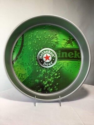 "Heineken 14"" Metal Beer Tray From Holland, Netherlands, Dutch, Rigamonti 2004"