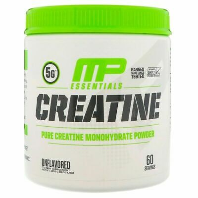 MUSCLEPHARM - 100% PURE CREATINE MONOHYDRATE POWDER - 300g 600g 1kg - MP POWER