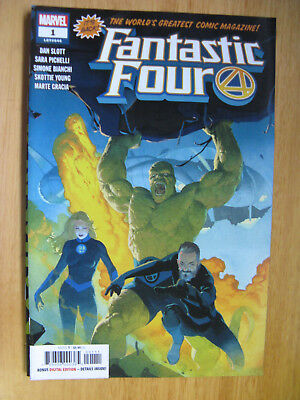FANTASTIC FOUR #1 -2018 (new with bag/board)