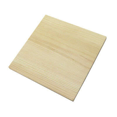 Square Base Wooden Craft Blank Plaque for Children DIY Craft Wooden Material
