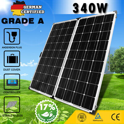 325W Solar Panel Kit 12V Mono Caravan Camping Home Off Grid Battery Charging AU
