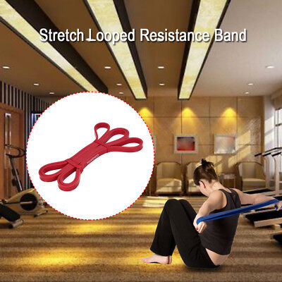 TOMSHOO 208cm Workout Schleifenband Assist Pull Up Band Stretch Resistance E9L1