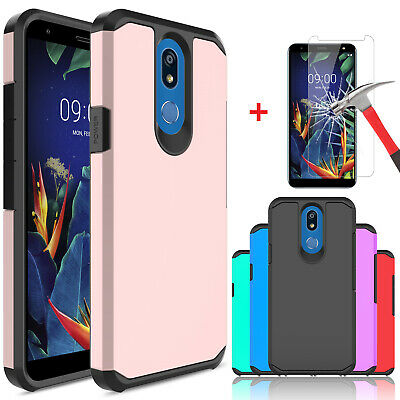 For LG Xpression Plus / Phoenix Plus Shockproof Case Cover With Screen Protector