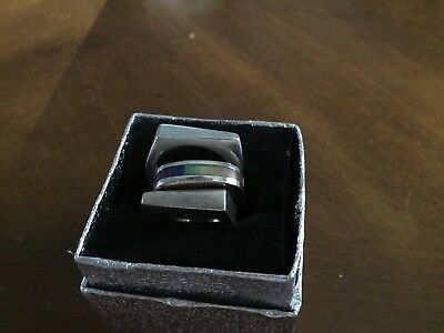 Lot Of Three Stackable Sterling Silver Rings Size 7