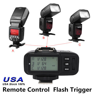 100M Remote X1T TTL 2.4GHz Wireless Single Transmitter Flash Trigger for Sony
