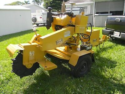 Rayco Rg 1635A Towable Stump Grinder Only 6 Hours Government Owned Watch Videos!