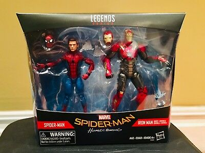 Marvel Legends Spider-Man Homecoming 2 pack Exclusive. Mint. A+Seller
