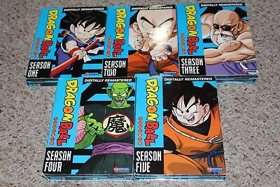 Dragon Ball The Complete Series Seasons 1-5 DVD