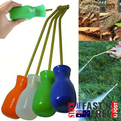 Pest Control Bulb Duster Sprayer Pesticide Diatomaceous Earth Powder Duster New