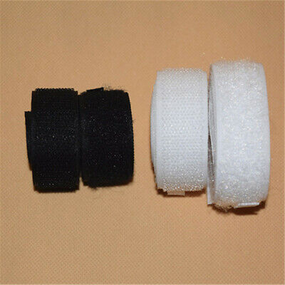 1/2/5M Not Self Adhesive Hook and Loop Tape Sew-On Craft Fastener Tape