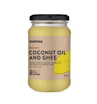 Melrose ORGANIC COCONUT OIL AND GHEE 380ML