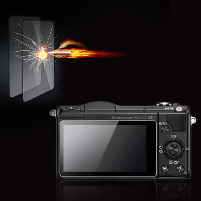 Premium Tempered Glass Camera Screen HD Protector for Sony A3000/A5000/A6000 MN