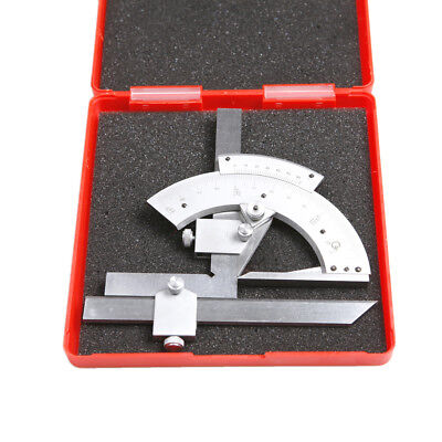 Universal Bevel Protractor Angular test Dial scale Measuring Range 0-320 degree