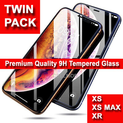 Gorilla Tempered Glass Screen Film Protector for iPhone XS Max,XR,XS,X