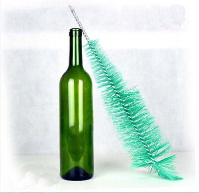 Nylon Bottle Clean Brush Wine Beer Home Brew Tube Spout Kitchen Cleaner PU