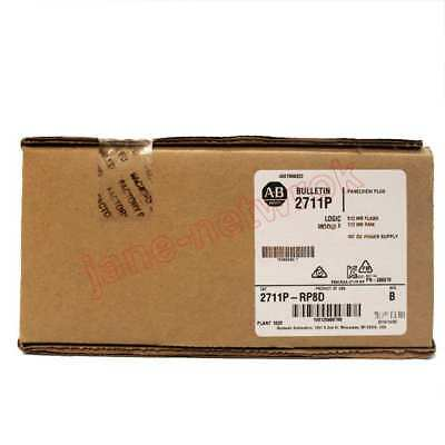 1PC NEW    2711P-RP8D PanelView Logic Module 2711P      (by EMS or DHL ) #QQ002