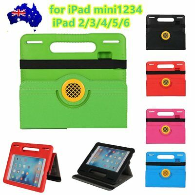 Kid Heavy Duty Shock Proof Safe Foam Proof Handle Case Cover for iPad 1/2/3 MY