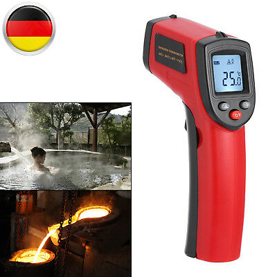 Digitale Laser Infrarot Thermometer Pyrometer -50°C Bis 380°C Mit LCD Beleucht