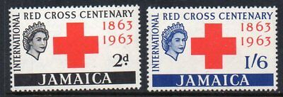 Jamaica - 1963 Red Cross Sg 203-204 Unmounted Mint