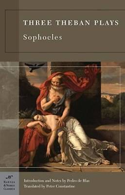 Three Theban Plays (Barnes & Noble Classics Series) by Sophocles