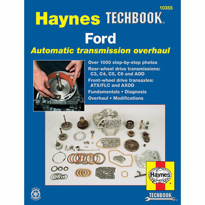 Ford Automatic Transmission Overhaul Manual Haynes USA Techbook