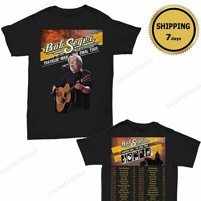 Bob Seger and the Silver Bullet Band Farewell Tour 2018-2019 T-Shirt size Men