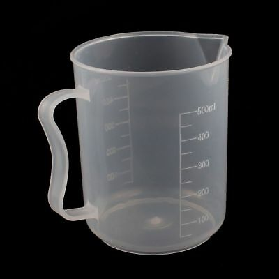 Hydroponics 500ml 0.5 Litre Plastic Measuring Jug Liquid Nutrients Cooking