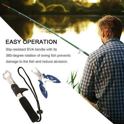 Fishing Grip Stainless Steel Fish Lip Gripper Fishing Tackle Tool Fischengriff