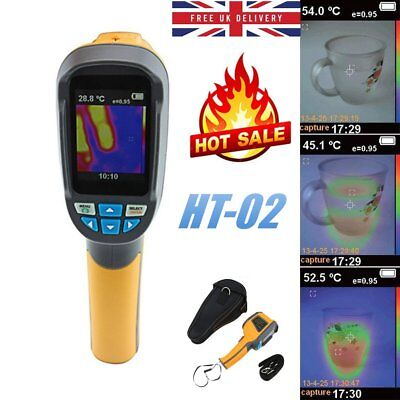 HT-02 60 x 60 Digital Infrared Imager Thermometer Thermal Imaging Camera UK