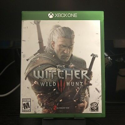 Microsoft Xbox One | Witcher 3: Wild Hunt | Complete In Box CIB