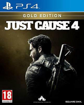 Just Cause 4 Gold Edition (PS4) IN STOCK NOW Brand New UK PAL