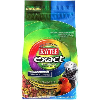 KAYTEE EXACT RAINBOW COMPLETE FOOD FOR PARROTS AND CONURES 1.13kg
