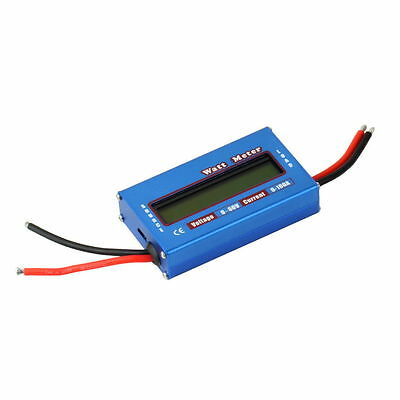 100A 60V DC RC Helicopter Airplane Battery Power Analyzer Watt Meter Balancer W8