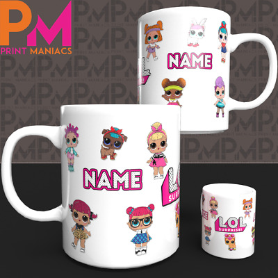 Lol Surprise Dolls Personalised Character Pet Mug Cup Her Kids Birthday Gift
