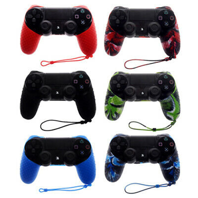 Half PS4 Silicone Controller Case Skin Covers For PlayStation 4 / Slim / Pro