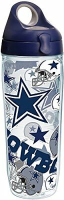 Tervis 1247896 NFL Dallas Cowboys All Over Tumbler with Wrap and Navy with Gray
