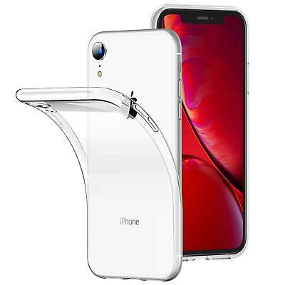 For Apple iPhone XR New Genuine New Clear Gel Silicone Rubber Phone Case Cover