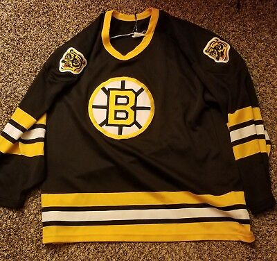 Vintage Rare Boston Bruins Jersey 90 s CCM Maska Man Size Medium Hockey NHL 6710f2272