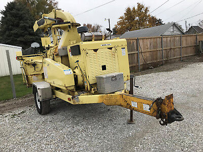 "2006 Bandit Industries 1590XP 18"" Drum Woodchipper Trailer Mounted Forestry"