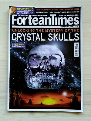 FORTEAN TIMES - SPECIAL 2008 - Unlocking.. Mystery of .. Crystal Skulls - FT237