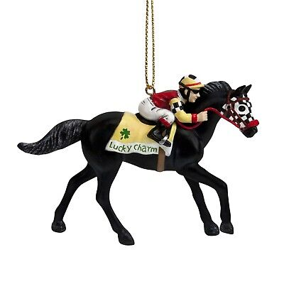 "Trail of Painted Ponies Godspeed Hanging Ornament 'Luck Charm "" New"